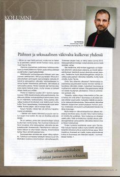 Kolumni. Sairaanhoitaja 2/2012, http://janholmberg.weebly.com/selaa-arkistoa.html