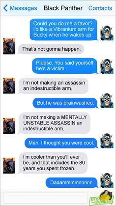 Texts From Superheroes Facebook   Twitter   Patreon
