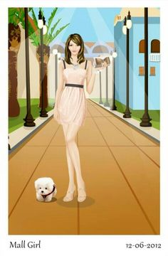 Mall girl.   AWESOME!!!!!!!!!!
