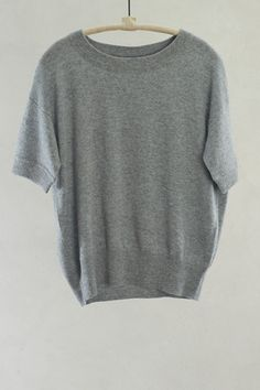 Melange Short Sleeve Pullover by Closed $252 | shopheist.com