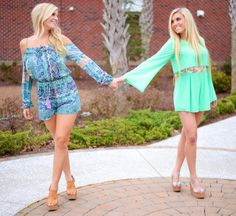 Spring Rompers - Smooch Boutique