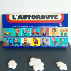 Brocante Jouet vintage ancien jeu de société d'Edmond DUJARDIN l'Autoroute coupe…