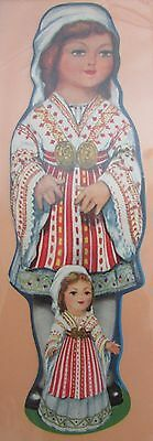 Antique Brand Pages Bookmark Advertising Cut Out Woman And Girl Romanian | eBay My Bookmarks, Antiques, Handmade, Ebay, Collection, Women, Antiquities, Antique, Hand Made