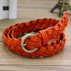 Free shipping/new 2016/belt/belts for women/genuine leather /041/cintos femininos /fashion strap/Braided belt/metal pin buckle