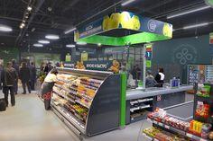 Перекресток - флагманский супермаркет Отдела по розничному брендированию GmbH , Москва, Россия