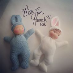 A free doll pattern & video tutorial for a small, pocket sized baby doll perfect for new to sewing
