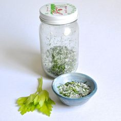 homemade celery salt by flowerpress