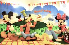 "Photo 5 of 16: Mickey goes picnic / Birthday ""Russel 1st Birthday Party"" 