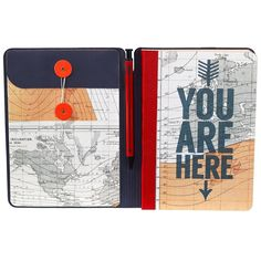 Wild and Wolf   Cartography Travel Journal & Pen – Bloomsbury Store