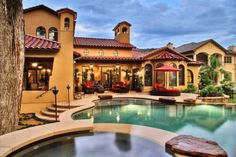 Mediterranean-style in Austin. Vanguard Studio Inc.