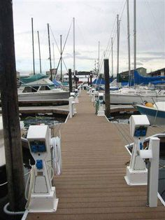 wood plastic laminate hollow floating dock decking/flooring covering