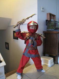 Twinight's 2012 Halloween Costume Contest Entry - Ninjago Kai ZX and Nya