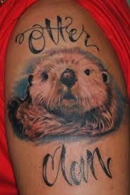 Image result for otter tattoo