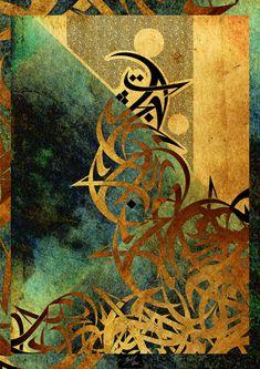 Oriental Pages-Page 69 by malikanas on DeviantArt Arabic Calligraphy Art, Arabic Art, Visual Elements Of Art, Disney Canvas Art, Graffiti, Africa Art, Islamic Wall Art, Oriental Design, Hippie Art