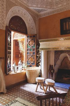 The Secret Garden in Marrakech bedrooms. Lanterns decor living rooms home decor bedroom interiors lanterns style tiles rooms Riad, Moroccan Design, Moroccan Style, Modern Moroccan Decor, Moroccan Room, Design Marocain, Moroccan Interiors, Islamic Architecture, Morrocan Architecture