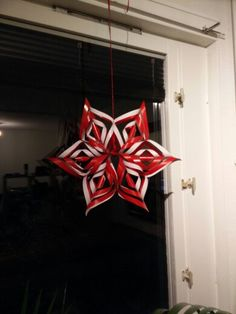 Snowflake star for the window #advent #adventstar #julestjerne #jul #christmas