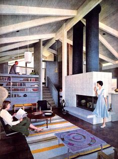 The Eichler house designed for Life magazine by Pietro Belluschi in 1959. How the Eichler houses became a symbol of modernist architecture? Click on the image to discover and see more...