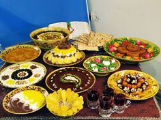 More Yummy Persian Dishes