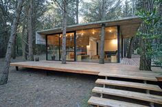 eco house 4- I could only dream to live here! Such beauty & serenity! http://www.supertransportablehomes.com.au