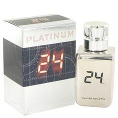 24 Platinum The Fragrance By Scentstory Eau De Toilette Spray 1.7 Oz - MNM Gifts