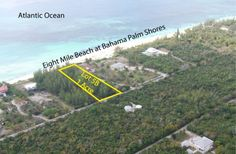 SOLD! Bahama Palm Shores, Atlantic Ocean Beachfront Lot # 5B, Block A, Section 1, Abaco, Bahamas