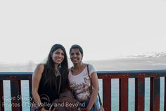 I met these women on the Golden Gate Bridge and we took photos for each other. Their camera made them into silhouettes, and we couldn't figure out how to get the flash to turn on, so I took a couple of photos with my camera to share with them.