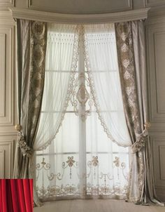 Vintage Rideaux Dentelle Rideaux Rideaux Crochet Rideau fenêtre salon chambre à coucher