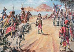 Murat saluta le bandiere dei reggimenti a Gaeta - Patrice Courcelle & Jack Girbal