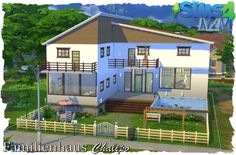 Family house by Chalipo at All 4 Sims via Sims 4 Updates
