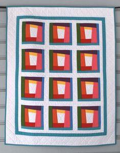 Modern Rainbow Baby Quilt - Free Patterns on Craftsy!