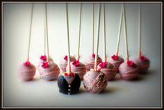 Bride & Groom Wedding Cake Pops, Cupcake Novelties, Winchester VA - Gourmet Cupcakes, Wedding Cakes, Cake Pops, Cookies & Cakes, Edible Cupcake Arrangements, Cupcake Bouquets, Cupcake Gifts, French Macarons & Treats