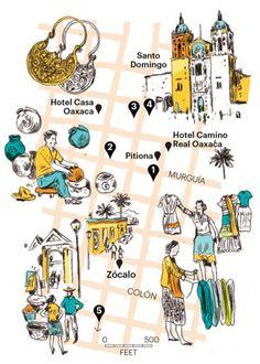Elise Loehnen maps out the ultimate treasure hunt in Oaxaca's open-air markets…