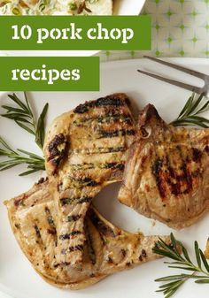 10 Pork Chop Recipes — From healthy living dinner options to pork chops smothered in sauce, our pork chop recipes rival chicken dishes in the versatility department!