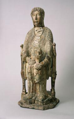Enthroned Virgin and Child, Saint Louis Art Museum Romanesque Sculpture, Romanesque Art, Sacred Symbols, Sacred Art, European History, Art History, Rome Antique, Madonna Art, Empire Romain