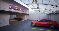 BMW Carwash Design Proyecto Diseñado para Sighinolfi Group