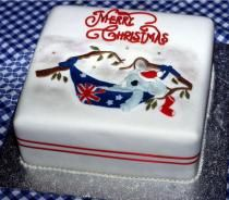 The 101 Best Christmas Cake Decorating Images On Pinterest