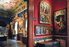Jose Lazaro Galdiano Museum, Rooms 7 and and century Spanish art. This is in Madrid - when's the next plane? Madrid Museum, Spanish Villas, Genius Loci, Spanish Art, Spain And Portugal, Beautiful Places In The World, Beautiful Interiors, 16th Century, Exterior Design