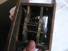 Stará Selské hodiny s miniaturou a dlouh.kyvadlem