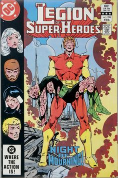 "During the ""Great Darkness Saga"", we get a Legion of Super-Heroes homage featuring Sunboy holding the body of a brother of one of the Legionnaires."