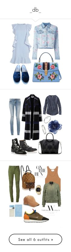 """_db_"" by beelovem ❤ liked on Polyvore featuring Chanel, Philipp Plein, Gucci, Givenchy, Yves Saint Laurent, L.L.Bean, Helene Berman, Cartier, Accessorize and 3.1 Phillip Lim"