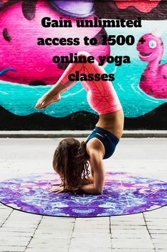 Gain access to over 1500 + online yoga classes b8d955069c03