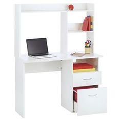 For a modern, compact and practical desk with plenty of storage space, try this Oxford Student Workstation. Bedroom Desk, Kids Bedroom Furniture, Office Furniture, Office Desk, Student Desks, Desk Hutch, Kid Desk, Study Desk, White Desks