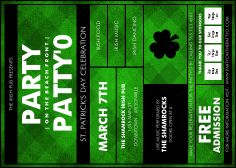 St. Patrick's Day Flyer from TicketPrinting.com