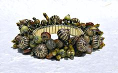 Flora and Fauna ChaCha Bracelet by blingbychristine on Etsy, $63.45