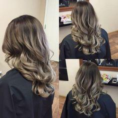 Cool Ash Brown Hair Color