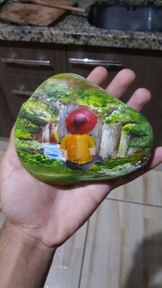 steine Information About The Indoor Bonsai Plant Article Body: Do you have a green thumb, or just th Seashell Painting, Pebble Painting, Pebble Art, Stone Painting, Rock Painting Ideas Easy, Rock Painting Designs, Paint Designs, Painted Rock Cactus, Hand Painted Rocks