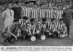 ATLETICO DE MADRID - Campeón de Copa - 1965