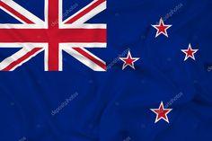 Waving New Zealand Flag - Stock Photo , #AD, #Zealand, #Waving, #Flag, #Photo #AD New Zealand Flag, Nz History, Flag Photo, Financial Logo, Facebook Sign Up, Birds In Flight, Banner, Waves, Symbols