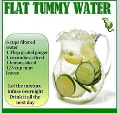 flat stomach water!!! thick and fit... eat clean train dirty!!!!