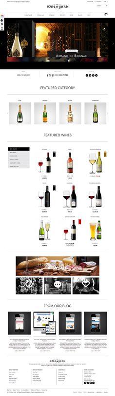 Gala VineYard - Responsive #Magento Theme for Wine Shops